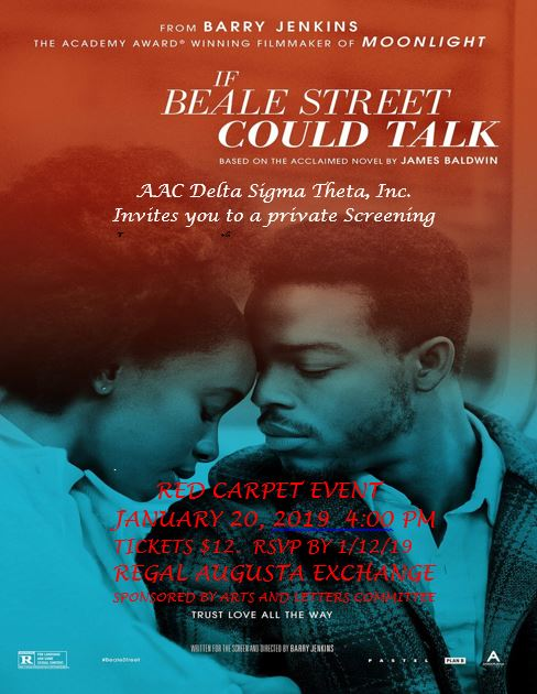 """If Beale Street Could Talk"" Red Carpet Event @ Regal Cinemas Augusta Exchange 20 & IMAX"
