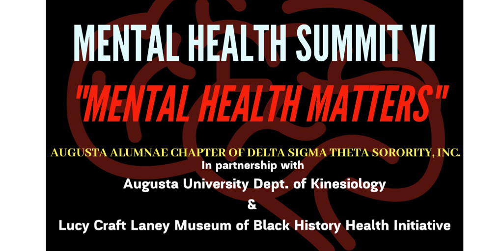 Free Mental Health Summit VI: Mental Health Matters @ Augusta University Summerville Campus