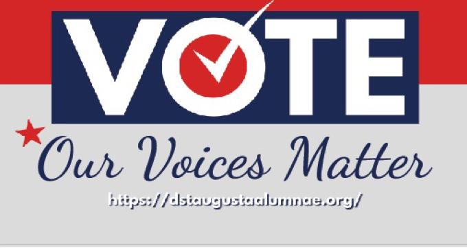 our voices matter...VOTE